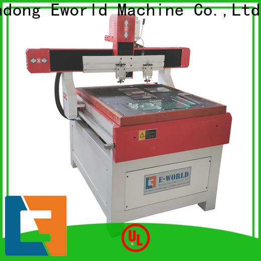 Eworld Machine air automatic glass cutting machine foreign trader for machine