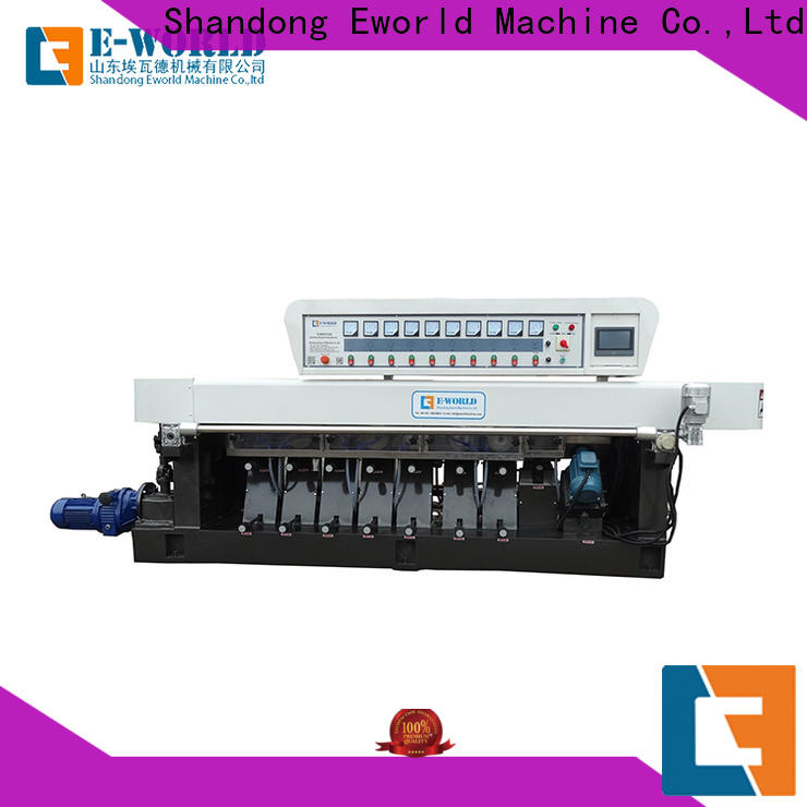 Eworld Machine professional glass beveling machine for sale supplier for industrial production