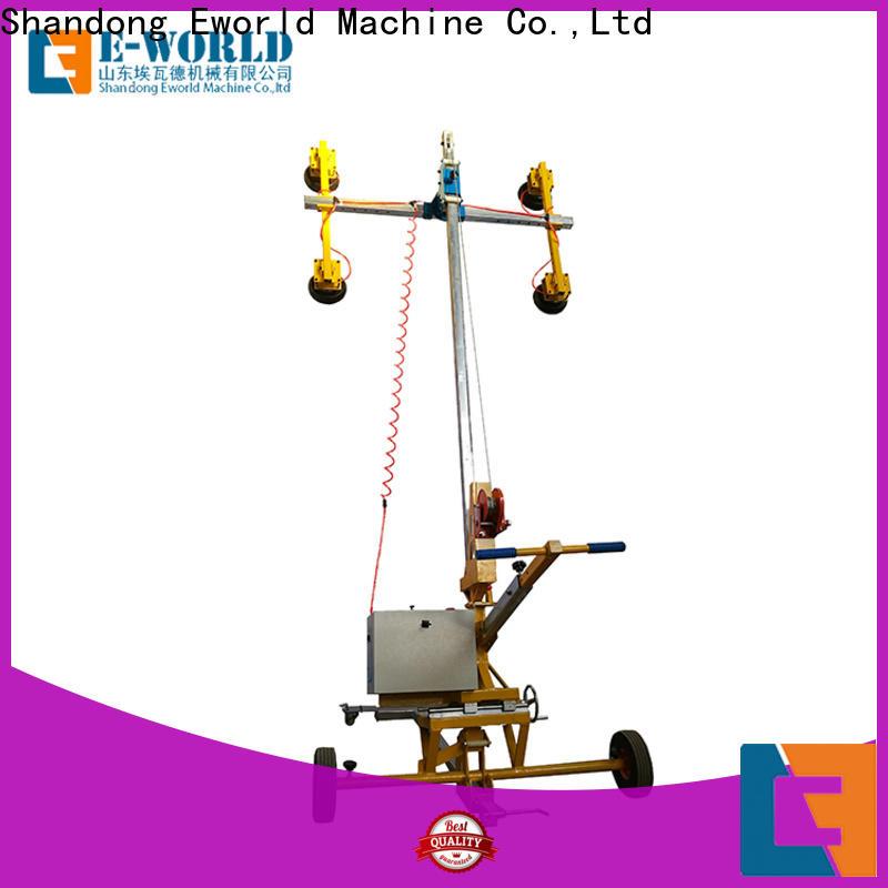 Eworld Machine glass glass lifting machine for industry