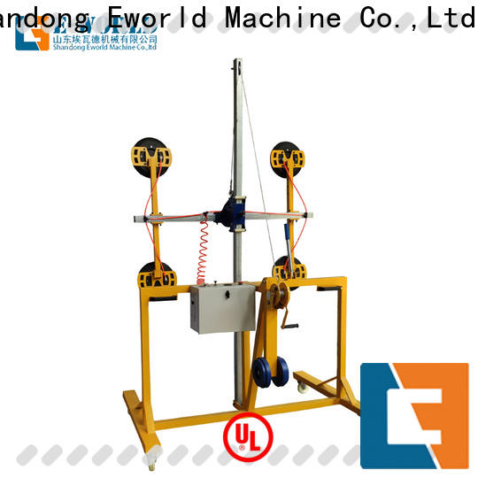 Eworld Machine standardized dual cup suction lifter factory for sale