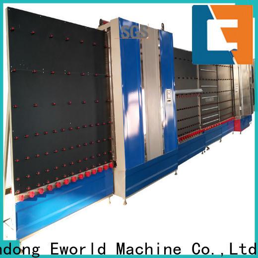 Eworld Machine fine workmanship vertical insulating glass machine wholesaler for manufacturing