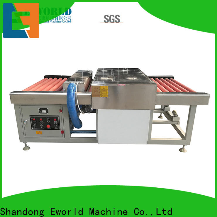 Eworld Machine inventive low-e glass washing machine factory for distributor