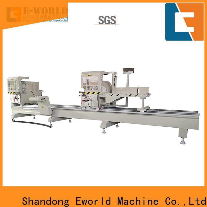 Eworld Machine technological aluminum window making machine OEM/ODM services for manufacturing