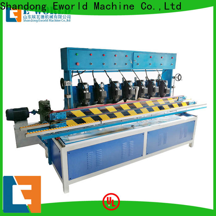 Eworld Machine beveling glass edge polishing machine supplier for industrial production