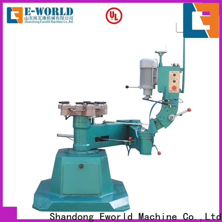 Eworld Machine edging glass edge processing machinery manufacturer for manufacturing