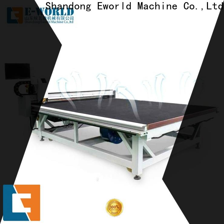Eworld Machine high reliability table glass cutting foreign trader for industry