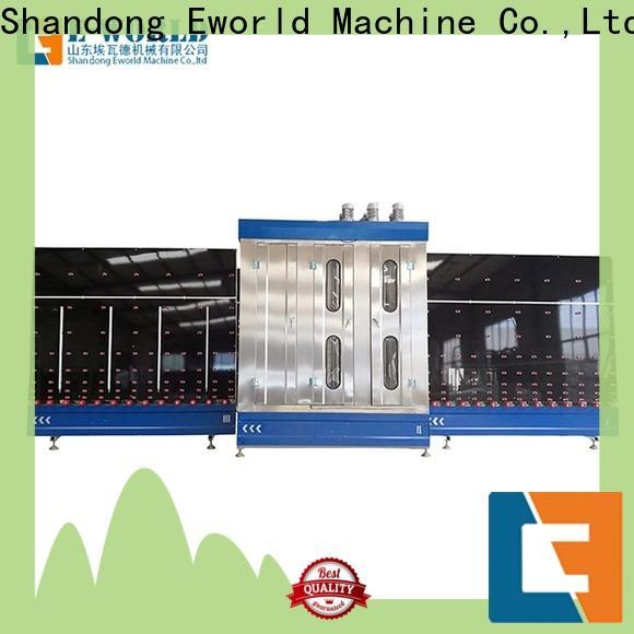 Eworld Machine inventive flat glass washing machine factory for distributor