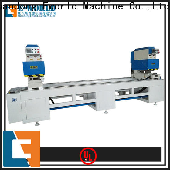 Eworld Machine latest upvc machine manufacturers supplier for manufacturing