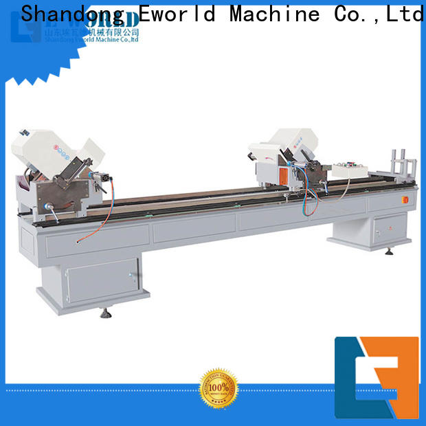 Eworld Machine latest pvc door window machine order now for manufacturing
