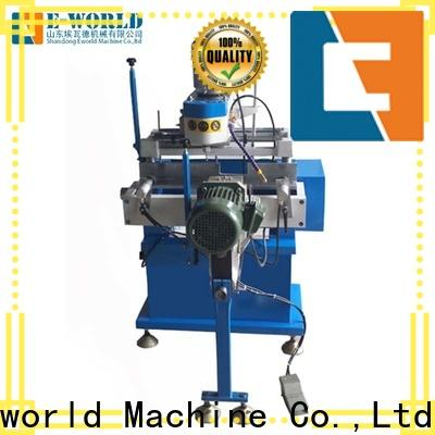 Eworld Machine latest upvc welding machine china supplier for industrial production