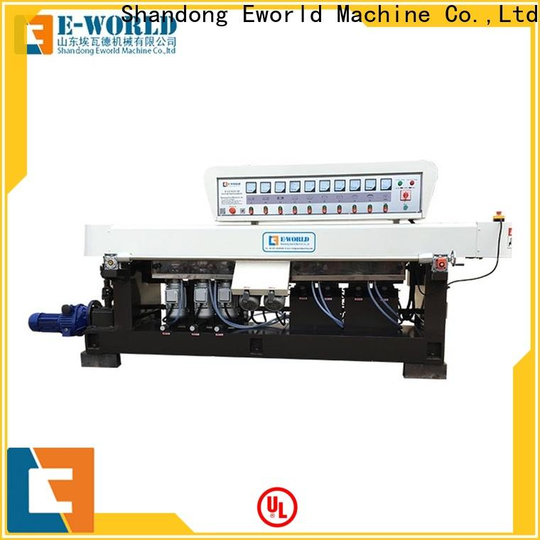 Eworld Machine technological glass edge chamfer machine OEM/ODM services for manufacturing