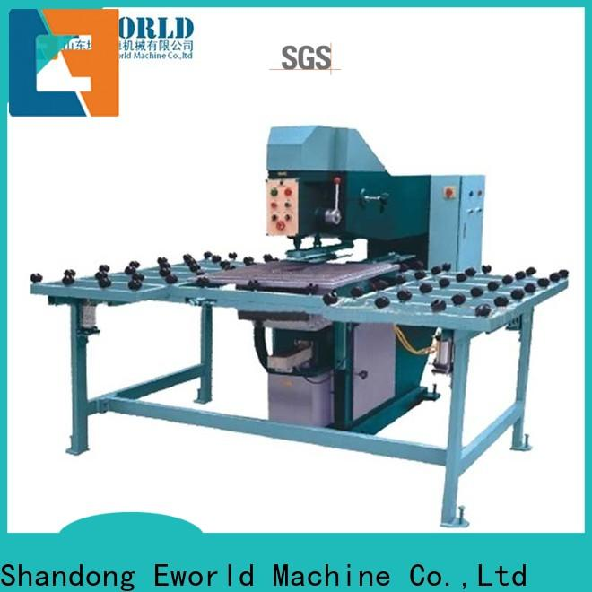 Eworld Machine automatic vertical glass drill machinery maker for industry