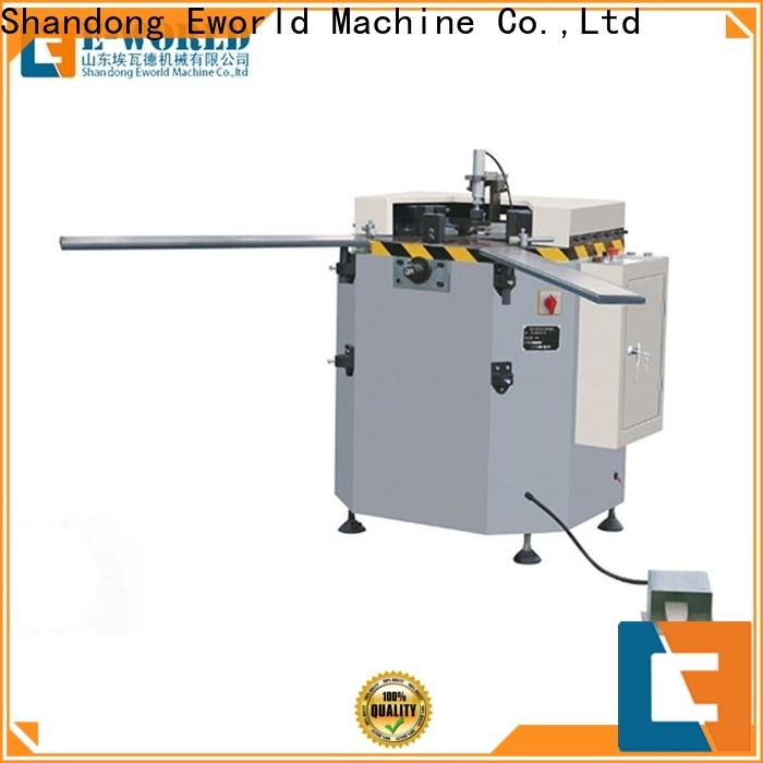 trade assurance upvc and aluminum window machine end OEM/ODM services for global market
