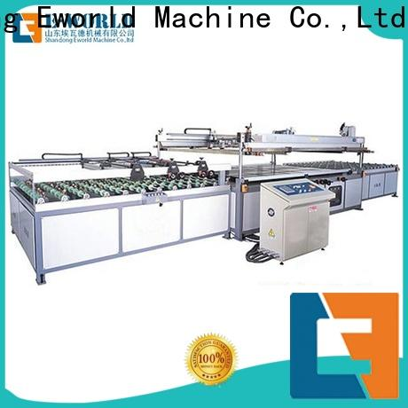 Eworld Machine screen auto glass screen printing machine trader for manufacturing
