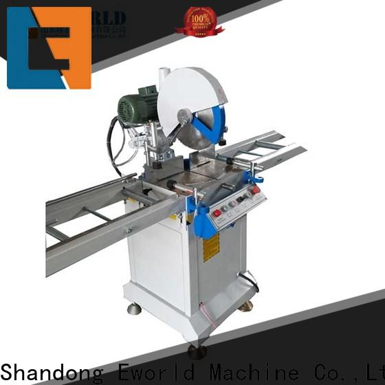 Eworld Machine latest upvc windows and doors machinery factory for manufacturing