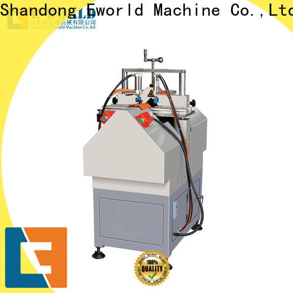 Eworld Machine latest upvc window machine price factory for importer