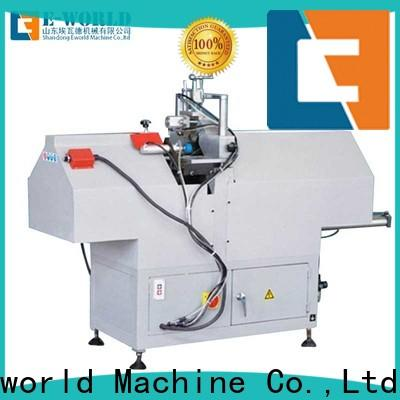 Eworld Machine new upvc window manufacturing equipment order now for manufacturing