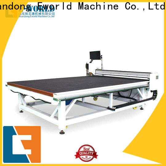 Eworld Machine loading shaped glass cutting machine dedicated service for industry