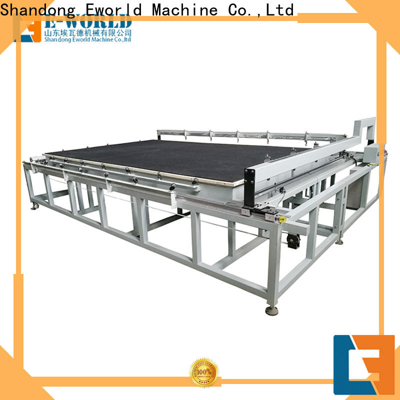 Eworld Machine float automatic glass cutting production line exquisite craftsmanship for industry