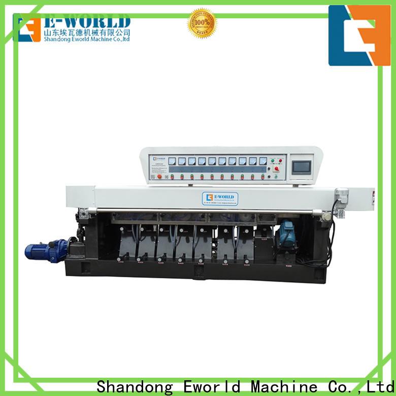 Eworld Machine horizontal glass edge processing machine manufacturer for industrial production