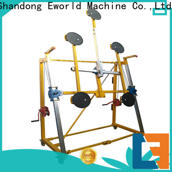 Eworld Machine bus glass vacuum lifter supplier for industry