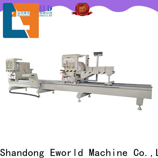 Eworld Machine aluminum aluminum windows hardware punching machine manufacturer for industrial production