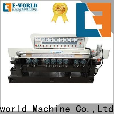 Eworld Machine beveling glass round corner machine manufacturer for manufacturing
