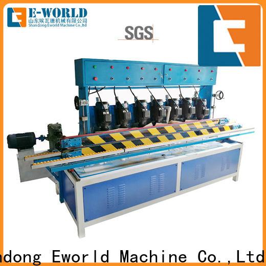 Eworld Machine fine workmanship glass beveling machine for sale supplier for global market