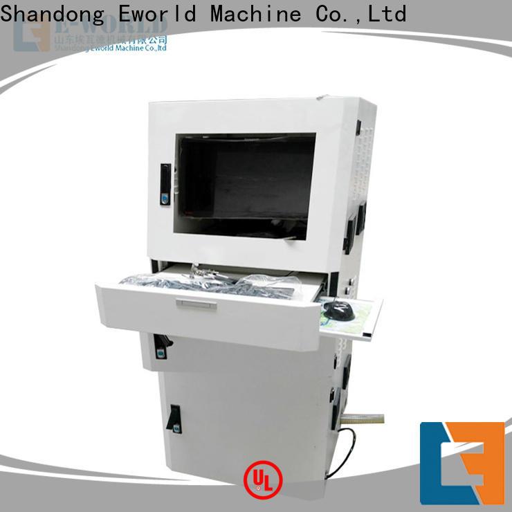 Eworld Machine tilting glass cutting machine price exquisite craftsmanship for sale