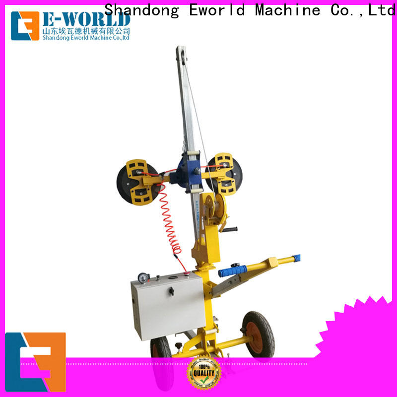 Eworld Machine outdoor glass loading unloading lifter supplier for sale
