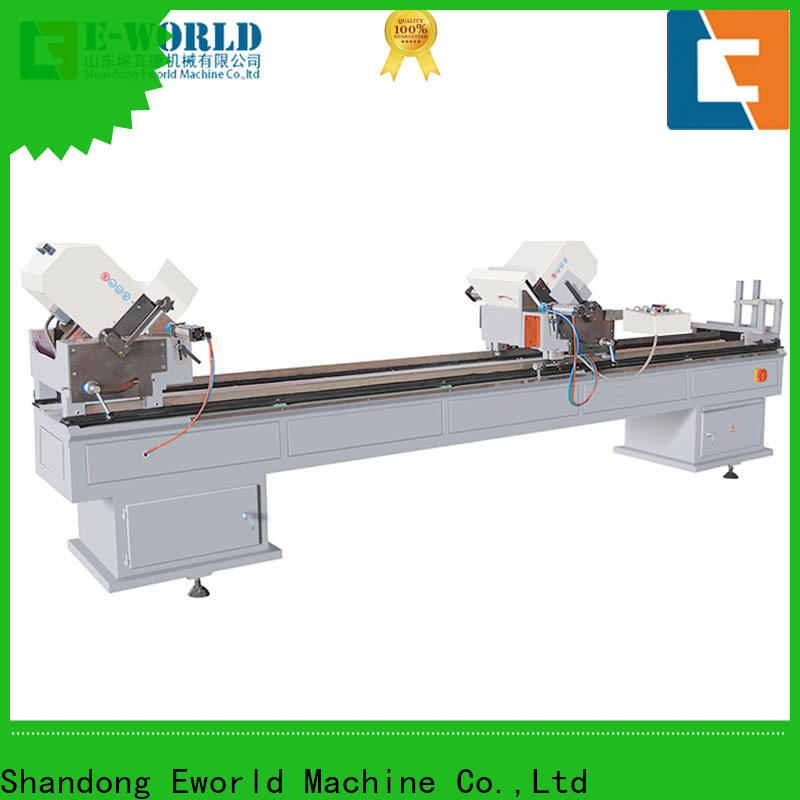 Eworld Machine glazing vinyl window machine supplier for importer