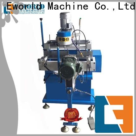 Eworld Machine upvc upvc window making machine factory for importer