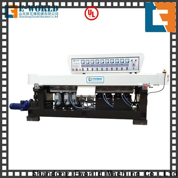 fine workmanship glass edging machine price double manufacturer for manufacturing