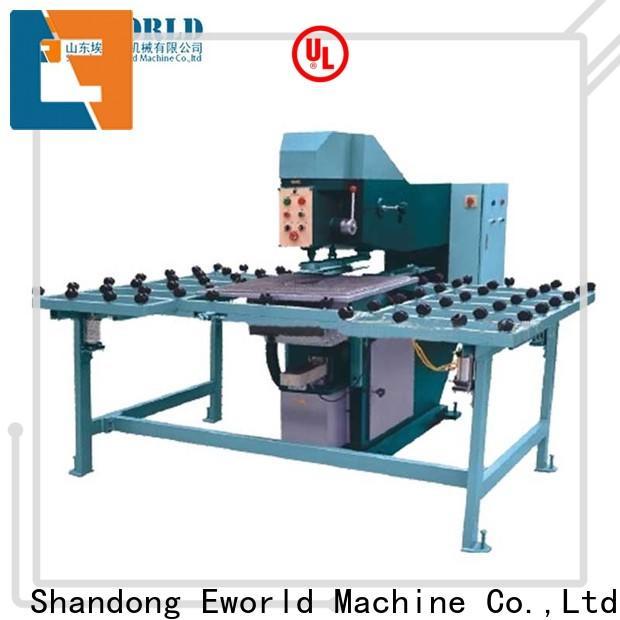 Eworld Machine drilling semi-automatic glass drilling machine supplier for industry