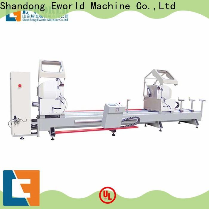 Eworld Machine saw corner crimping machine for aluminium profiles OEM/ODM services for global market