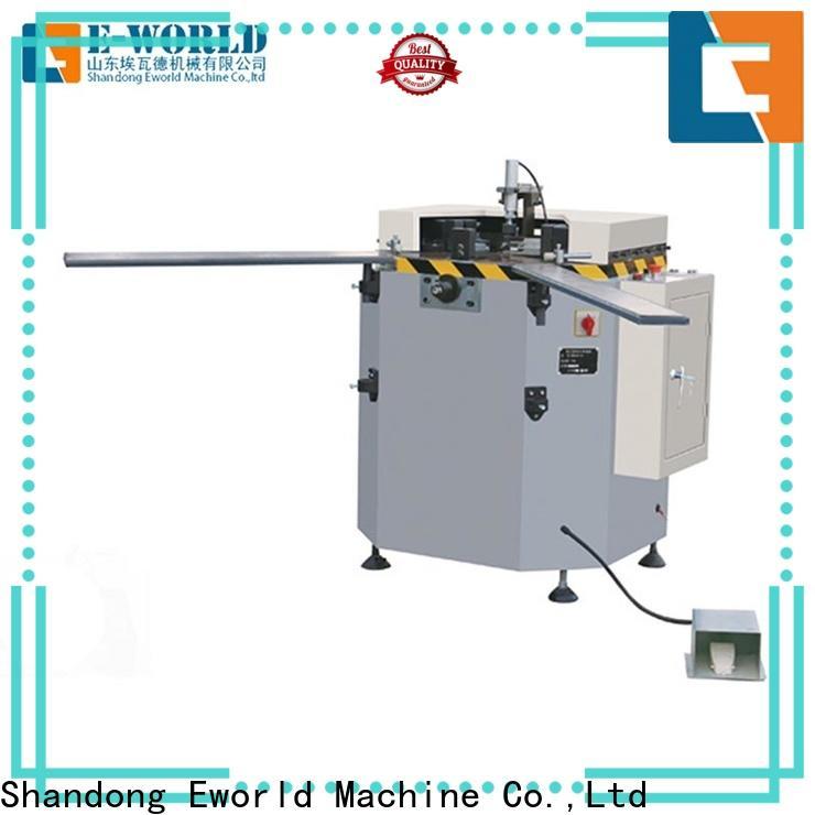 Eworld Machine milling aluminium window crimping machine supplier for global market