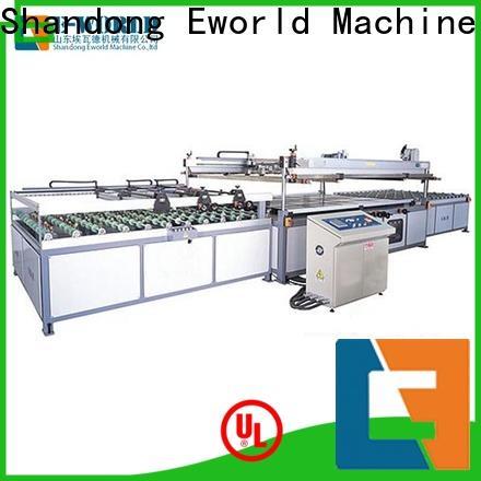 Eworld Machine automatic semi-automatic glass printing machine manufacturer for industry
