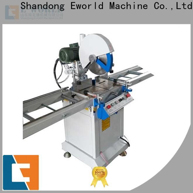 Eworld Machine latest pvc window welding machine order now for manufacturing