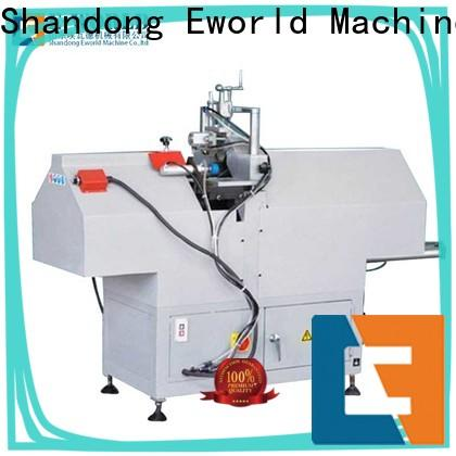 Eworld Machine new upvc manufacturing machinery supplier for industrial production