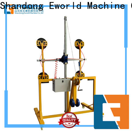 Eworld Machine vacuum mobile glass lifter for industry