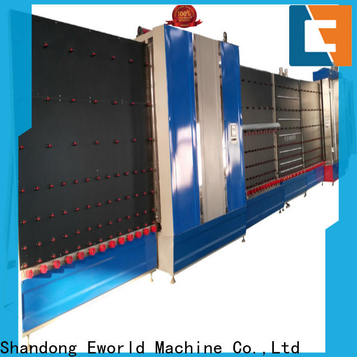 Eworld Machine fine workmanship vertical insulating glass machinery wholesaler for industry