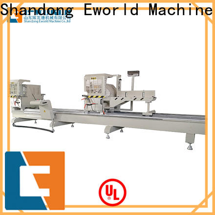 Eworld Machine end automatic upvc and aluminum window machine OEM/ODM services for global market
