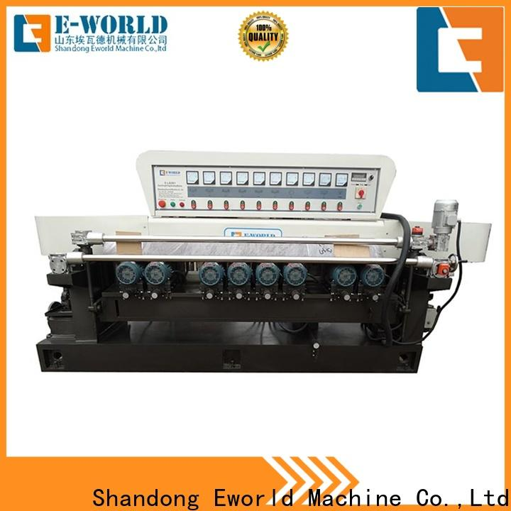 trade assurance mirror glass polishing machine shaped manufacturer for industrial production