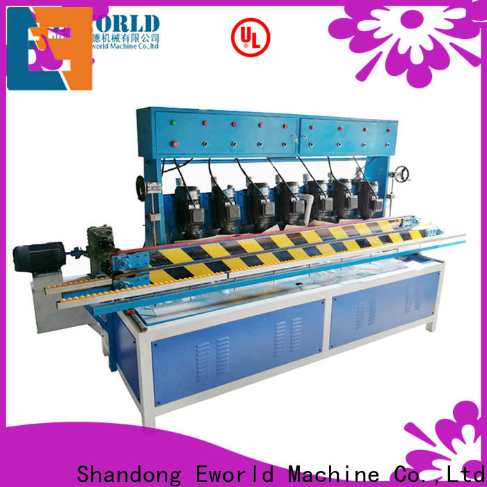 Eworld Machine trade assurance cnc glass polishing machine supplier for industrial production