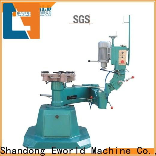 Eworld Machine technological glass edge chamfer machine manufacturer for manufacturing