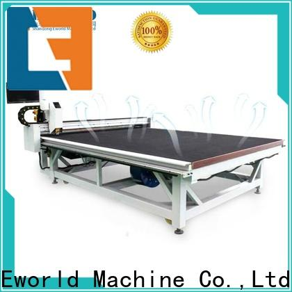 Eworld Machine reasonable structure automated glass cutting exquisite craftsmanship for industry