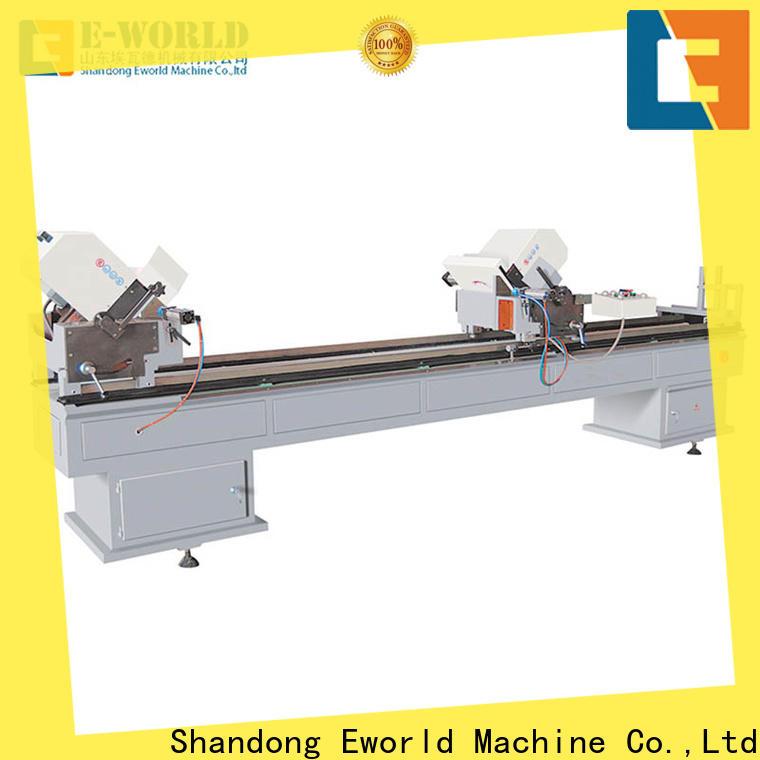 Eworld Machine latest pvc window miter saw supplier for importer