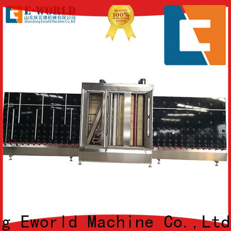 Eworld Machine inventive open top vertical glass washer factory for industry