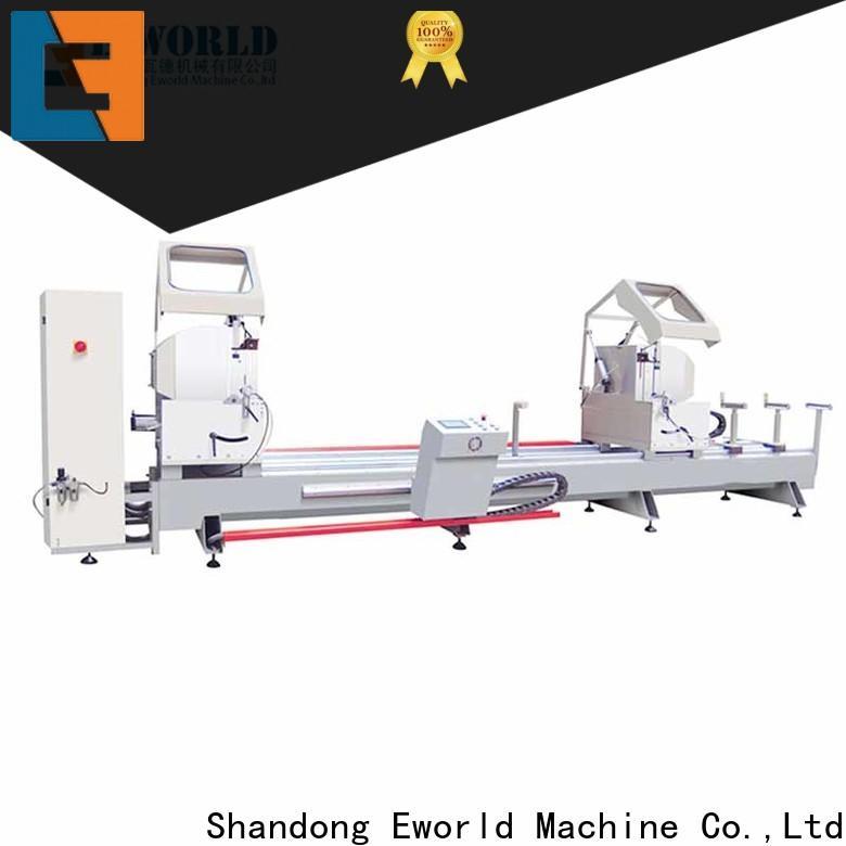 Eworld Machine saw automatic aluminum window machine manufacturer for global market