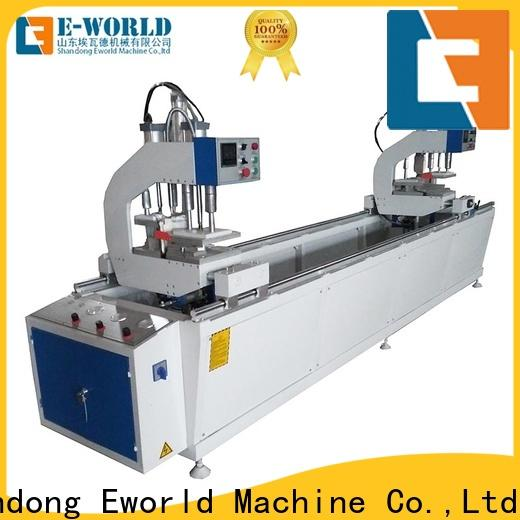 Eworld Machine latest upvc doors and windows making machine order now for industrial production